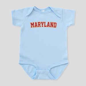 Maryland Jersey Font Infant Bodysuit