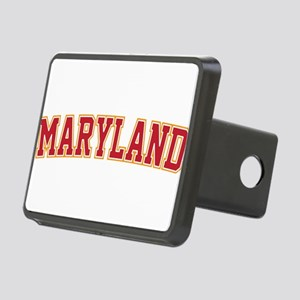 Maryland Jersey Font Rectangular Hitch Cover