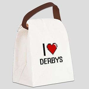 I love Derbys Canvas Lunch Bag