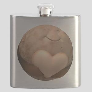 3D Pluto Heart Flask