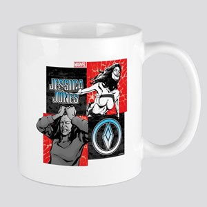 Jessica Jones and Jewel Mug