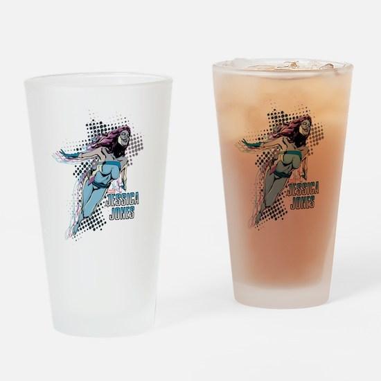 Jessica Jones Jewel Drinking Glass