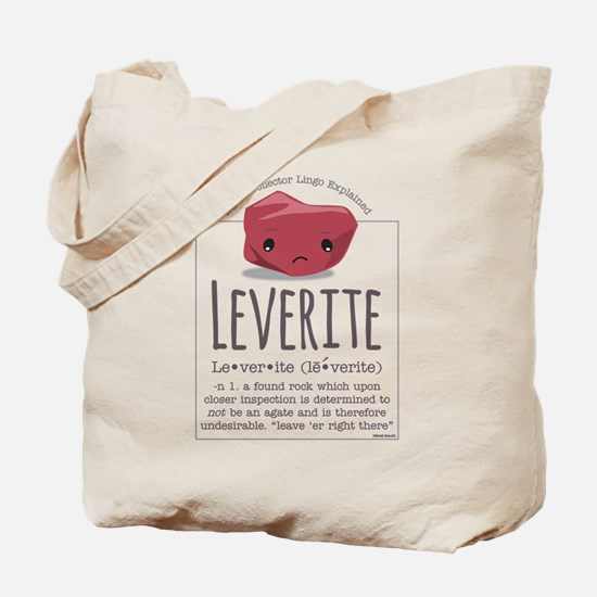 Leverite Agate Tote Bag