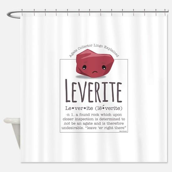 Leverite Agate Shower Curtain