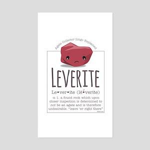 Leverite Agate Sticker (Rectangle)