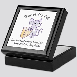 Year of The Rat Keepsake Box