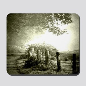farm western country road Mousepad