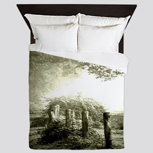 farm western country road Queen Duvet