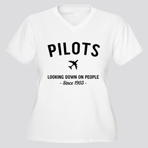 Pilots Looking Down On People Since 1903 Plus Size