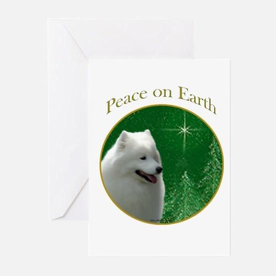 Samoyed Peace Greeting Cards (Pk of 10)