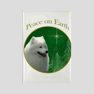 Samoyed Peace Rectangle Magnet