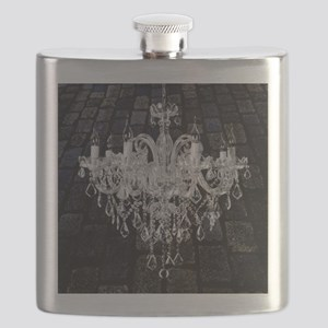 rustic grunge vintage chandelier Flask