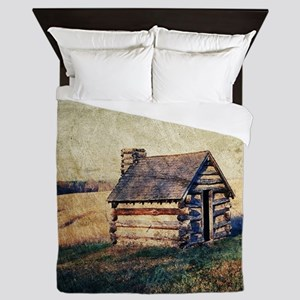 rustic vintage country  Queen Duvet