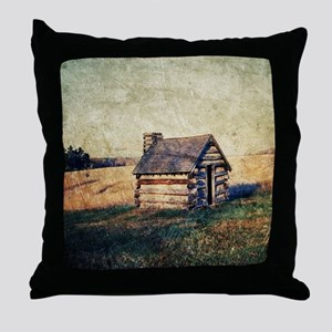 rustic vintage country  Throw Pillow