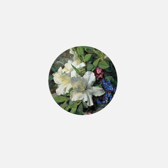 Henri Fantin-Latour painting, White Az Mini Button