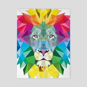 Rainbow Lion Twin Duvet