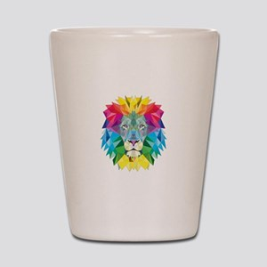 Rainbow Lion Shot Glass