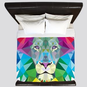 Rainbow Lion King Duvet