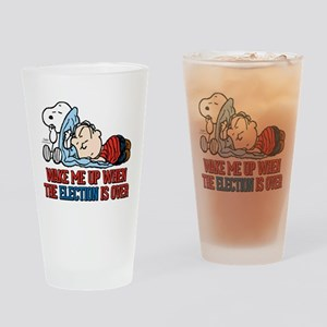 Snoopy - Wake Me Up Drinking Glass