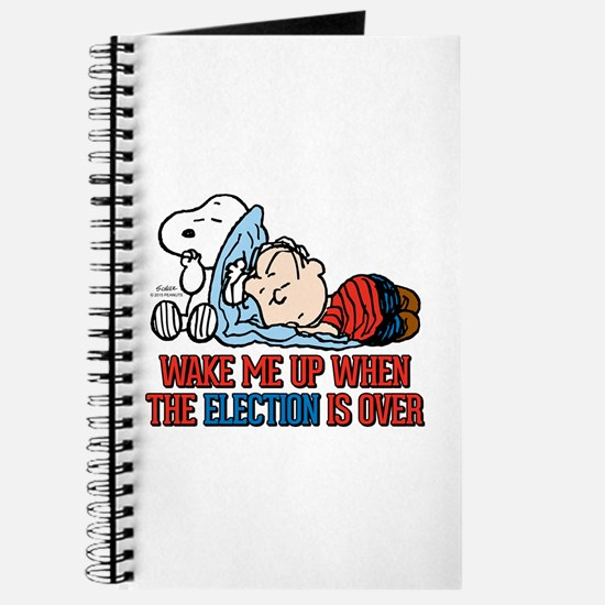 Snoopy - Wake Me Up Journal