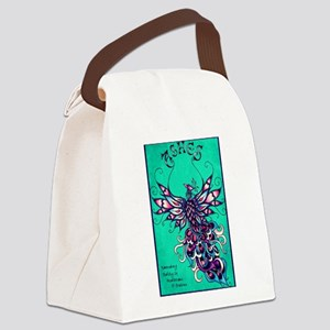 ASHES logo Canvas Lunch Bag