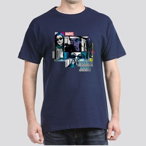 Jessica Jones & Purple Man Dark T-Shirt