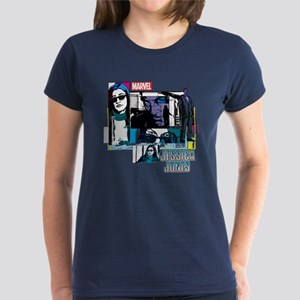 Jessica Jones & Purple Man Women's Dark T-Shirt