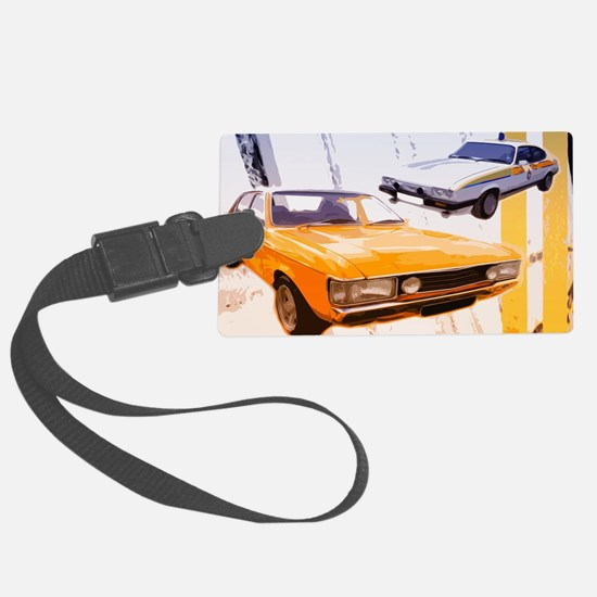 Cops & Robbers Luggage Tag