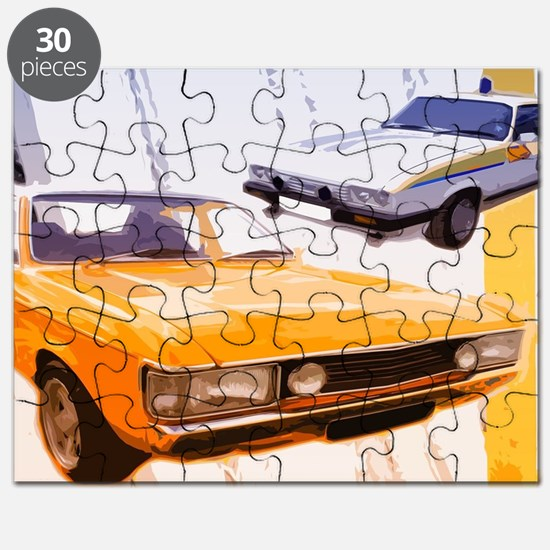Cops & Robbers Puzzle