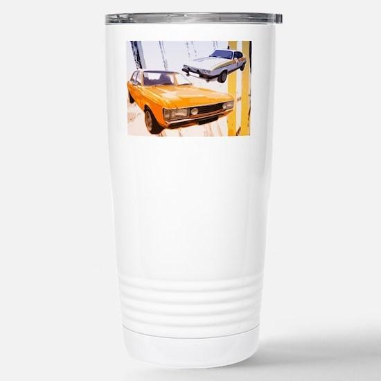 Cops & Robbers Stainless Steel Travel Mug