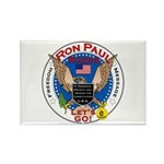 Ron Paul Radio Logo Rectangle Magnet (100 pack)