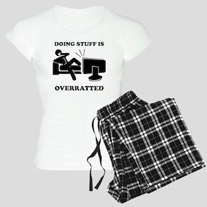 Doing Stuff Women's Light Pajamas