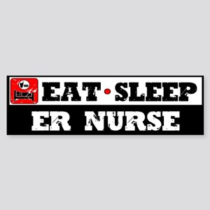 E.R. Nurse Sticker (Bumper)