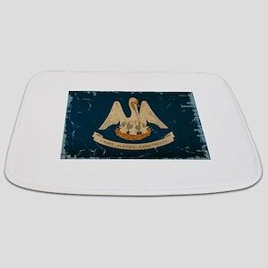 Louisiana State Flag VINTAGE Bathmat