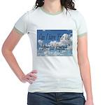 Rapture Wear! Car Jr. Ringer T-shirt