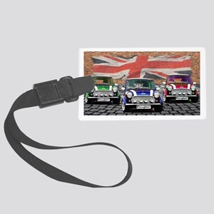 Mini Cooper Trio Large Luggage Tag