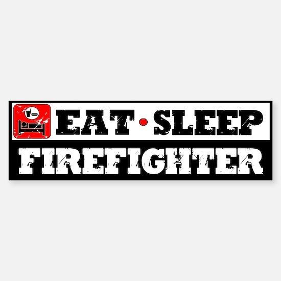 Firefighter Sticker (Bumper)