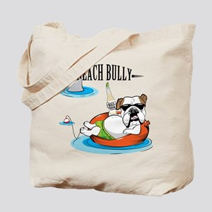 Beach Bully Tote Bag