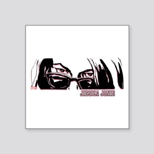 "Jessica Jones Eyes Square Sticker 3"" x 3"""