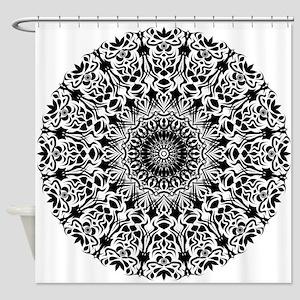 Tribal Mandala Shower Curtain