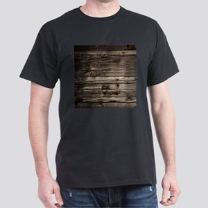 rustic primitive grey barn wood T-Shirt