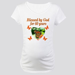 60TH BLESSING Maternity T-Shirt