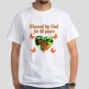 60TH BLESSING White T-Shirt