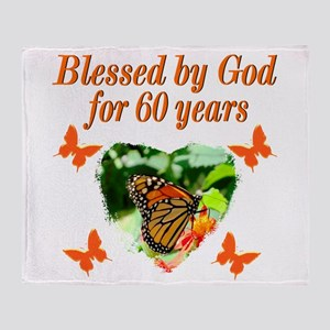 60TH BLESSING Throw Blanket