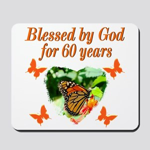 60TH BLESSING Mousepad