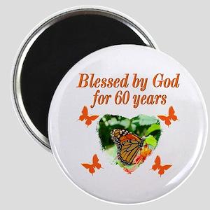 60TH BLESSING Magnet