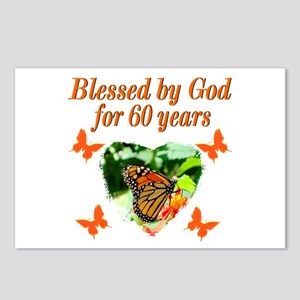 60TH BLESSING Postcards (Package of 8)