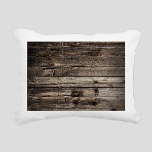 rustic primitive grey ba Rectangular Canvas Pillow