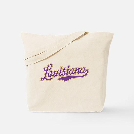 Louisiana Royal Purple and Gold-01 Tote Bag