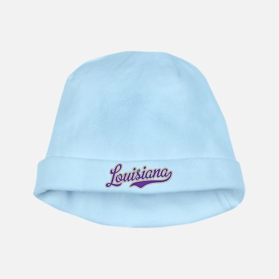 Louisiana Royal Purple and Gold-01 baby hat